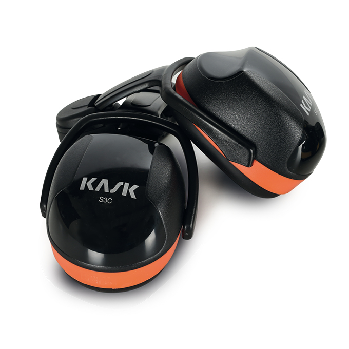 KASK NOISE REDUCTION HEADPHONES SC3 ORANGE