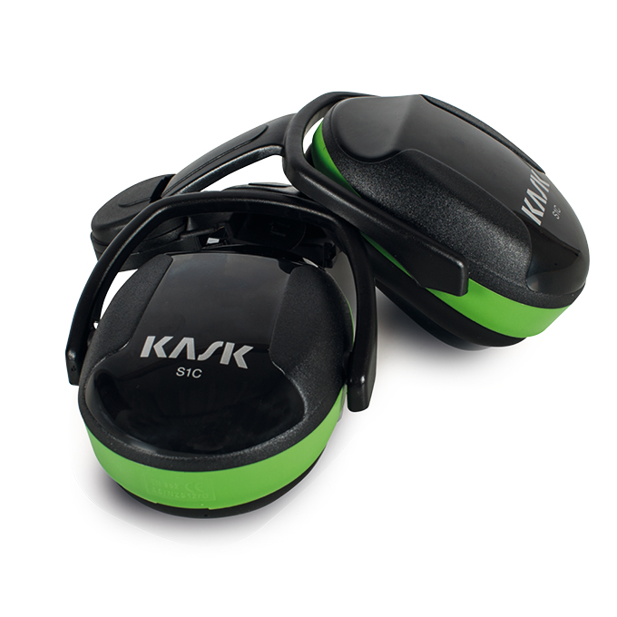 KASK NOISE REDUCTION HEADPHONES SC1 GREEN