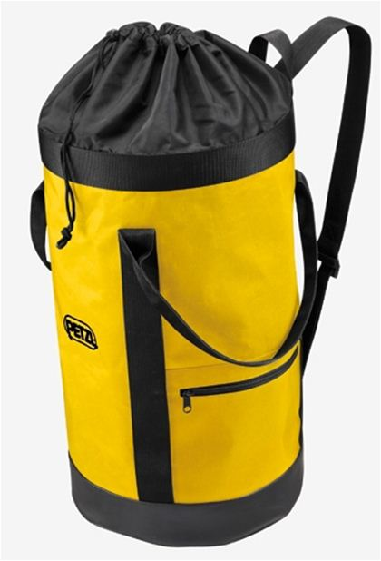 PETZL BUCKET FABRIC PACK REMAINS UPRIGHT 35L.