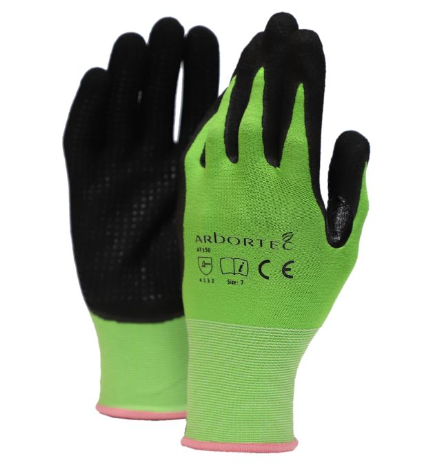 ARBORTEC AT150 GUANTES NITRILE GRIP