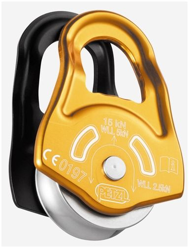 PETZL PARTNER Carrucola ultracompatta ad alto rendimento