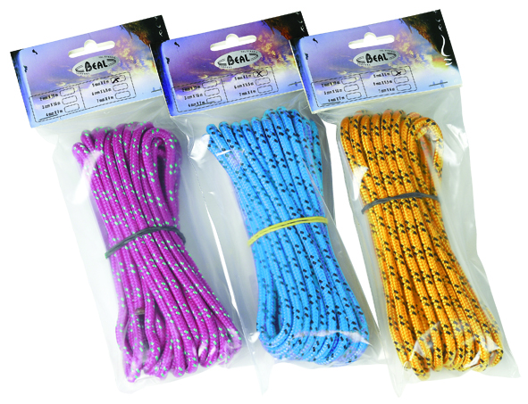 BEAL MULTI-USAGES LANYARD 5MM. X 6M BLISTER