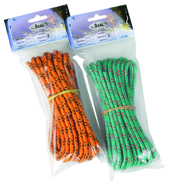 BEAL MULTI-USAGES LANYARD 6MM. X 5.5M BLISTER