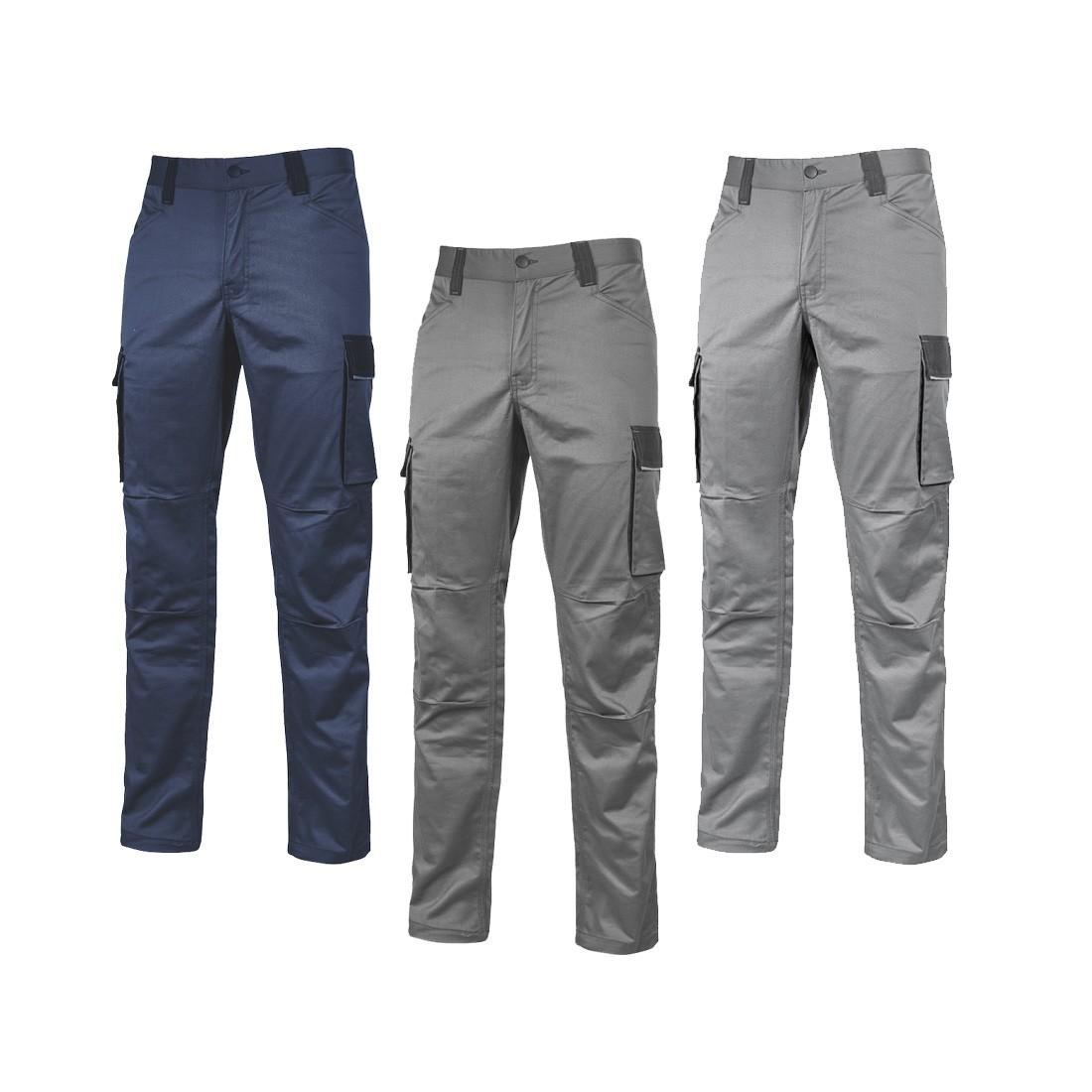 U.POWER PANTALONI CRAZY GREY IRON HY141GI