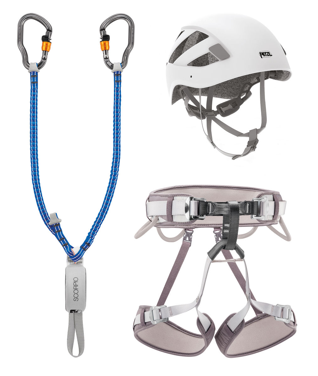 PETZL KIT VIA FERRATA VERTIGO CORAX-Tg.2