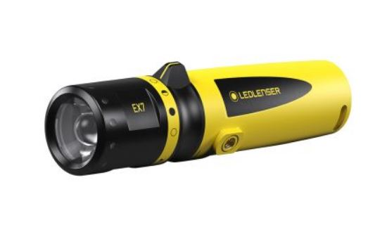 LED LENSER EX7  ATEX LAMP