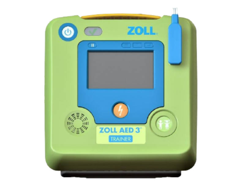 ZOLL DEFIBRILLATOR AED 3 TRAINER (AHA 2015)